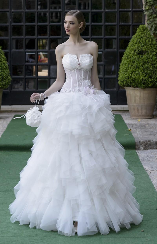 DRESS BRIDE BODICE FENCE - Confezioni Carotti Jesi