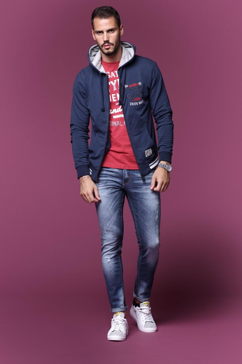 Felpa Man Urban Fashion Style Confezioni Carotti Jesi