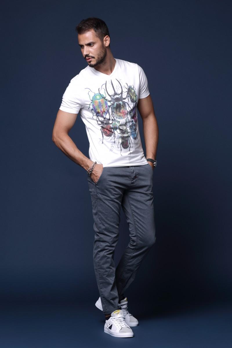 T Shirt Man Urban Fashion Style Confezioni Carotti Jesi
